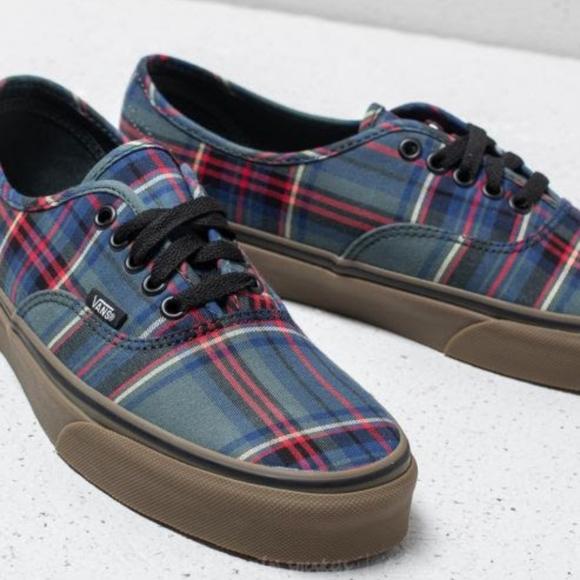 Vans Shoes   Vans Authentic Plaid Low
